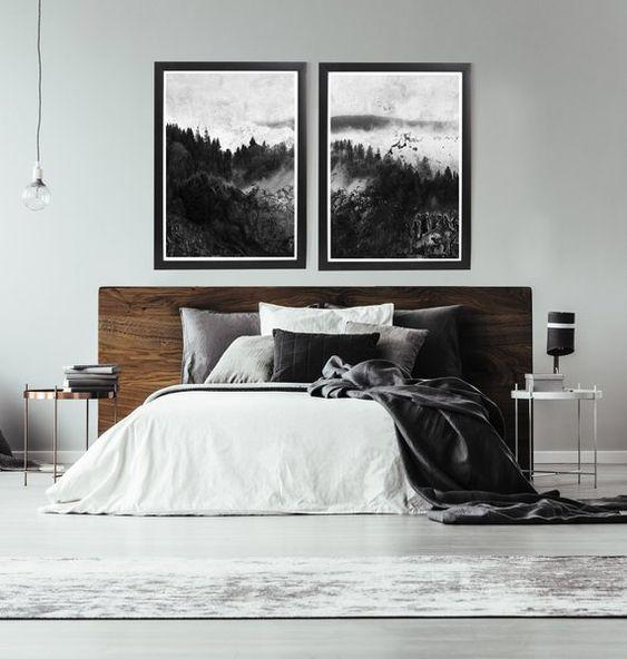 35 Inspiring Black and White Master Bedroom Color Ideas - Page 23 of 35 - VimDecor