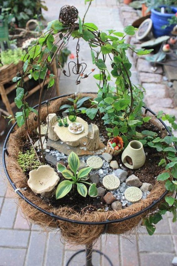 62 DIY Miniature Fairy Garden Ideas to Bring Magic Into Your Home - SooPush