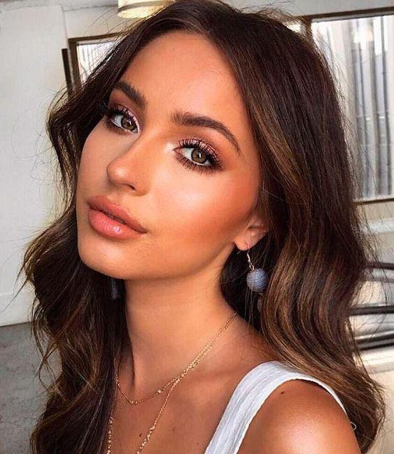 35 Warm Makeup Make A Soft, Ethereal look. - VimDecor