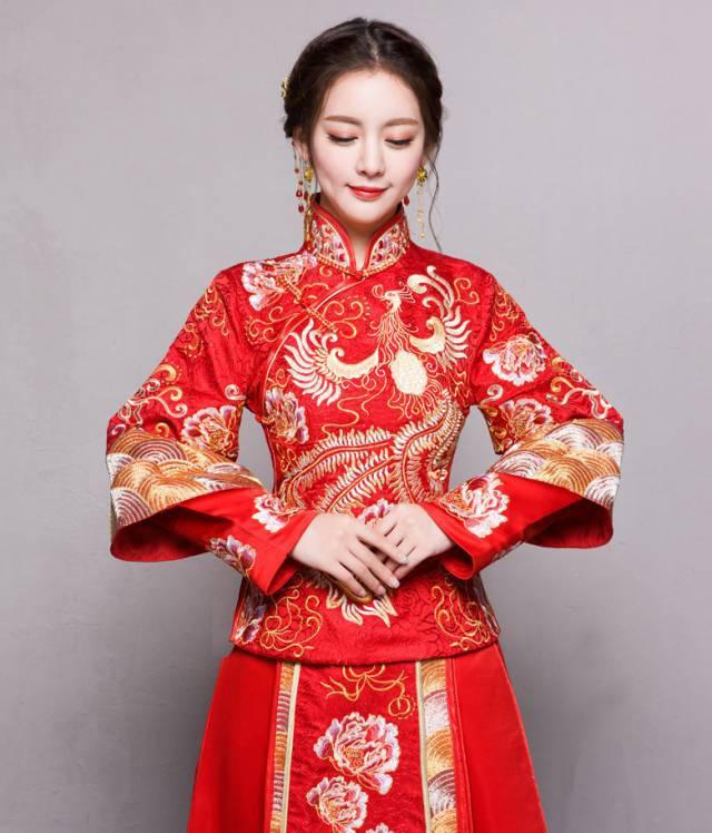 Chinese traditional bridal gown - zzzzllee