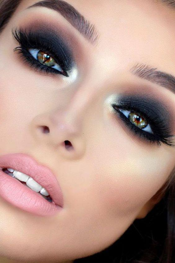 34 EXQUISITE MAKEUP LOOKS MAKE YOU MORE ATTRACTIVE IN PROM AND PARTIES - Page 14 of 34 - yeslip