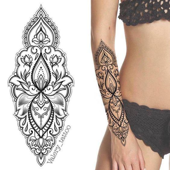 46 Awesome Mandala Tattoo Designs To Get Inspired - Page 5 of 46 - VimTopic