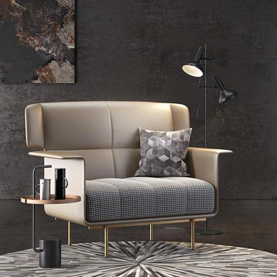 COMFORTABLE SINGLE SOFA IS AN IMPORTANT PART OF HOME DECORATION - Page 34 of 53 - Breyi