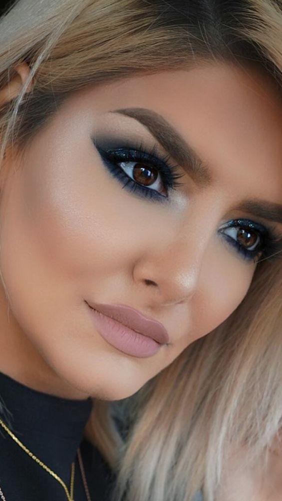 34 EXQUISITE MAKEUP LOOKS MAKE YOU MORE ATTRACTIVE IN PROM AND PARTIES - Page 15 of 34 - yeslip