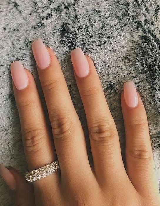 Superior And Graceful Pure Color Nails - SooShell
