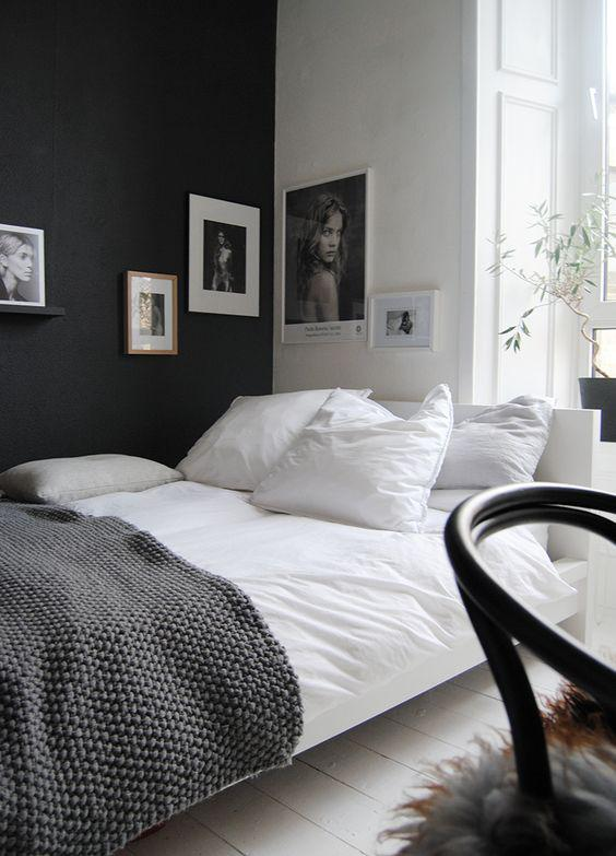 35 Inspiring Black and White Master Bedroom Color Ideas - Page 30 of 35 - VimDecor