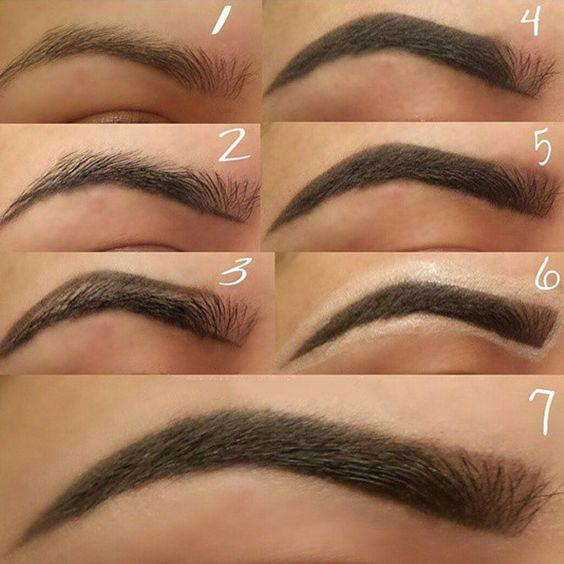 THE TECHNIQUE OF PAINTING EYEBROWS IS SOMETHING EVERY GIRL SHOULD KNOW - Page 21 of 40 - yeslip