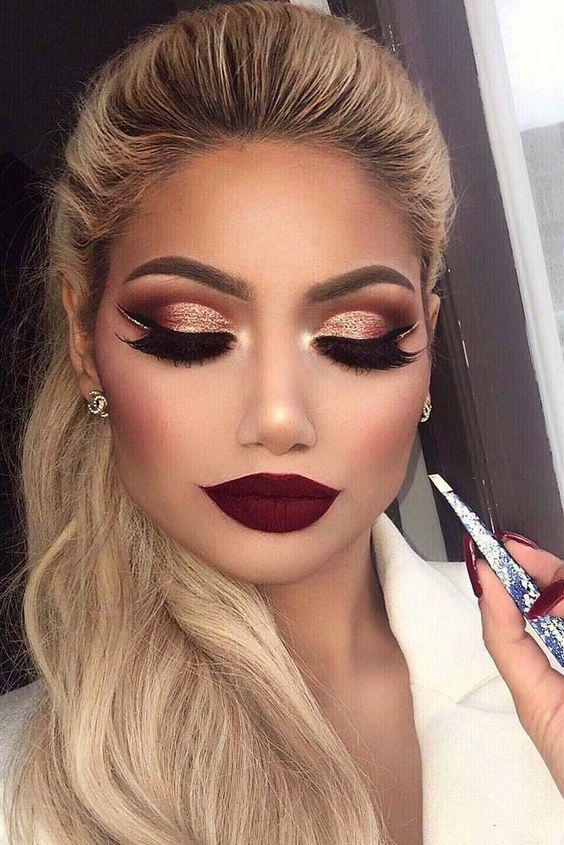 34 EXQUISITE MAKEUP LOOKS MAKE YOU MORE ATTRACTIVE IN PROM AND PARTIES - Page 5 of 34 - yeslip