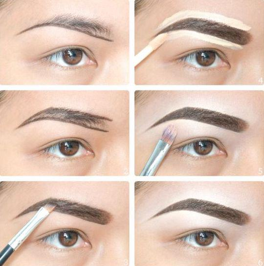 THE TECHNIQUE OF PAINTING EYEBROWS IS SOMETHING EVERY GIRL SHOULD KNOW - Page 25 of 40 - yeslip