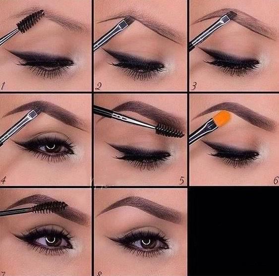 THE TECHNIQUE OF PAINTING EYEBROWS IS SOMETHING EVERY GIRL SHOULD KNOW - Page 9 of 40 - yeslip
