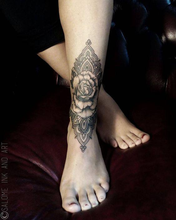46 Awesome Mandala Tattoo Designs To Get Inspired - Page 10 of 46 - VimTopic