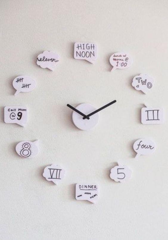19 Clock Decoration Ideas For Home Decor - Page 15 of 19 - SooPush