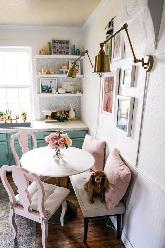 40+ Stunning Small Dining Room Table Furniture Ideas - Page 5 of 45 - VimTopic