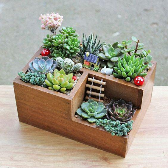 62 DIY Miniature Fairy Garden Ideas to Bring Magic Into Your Home - Page 30 of 62 - SooPush