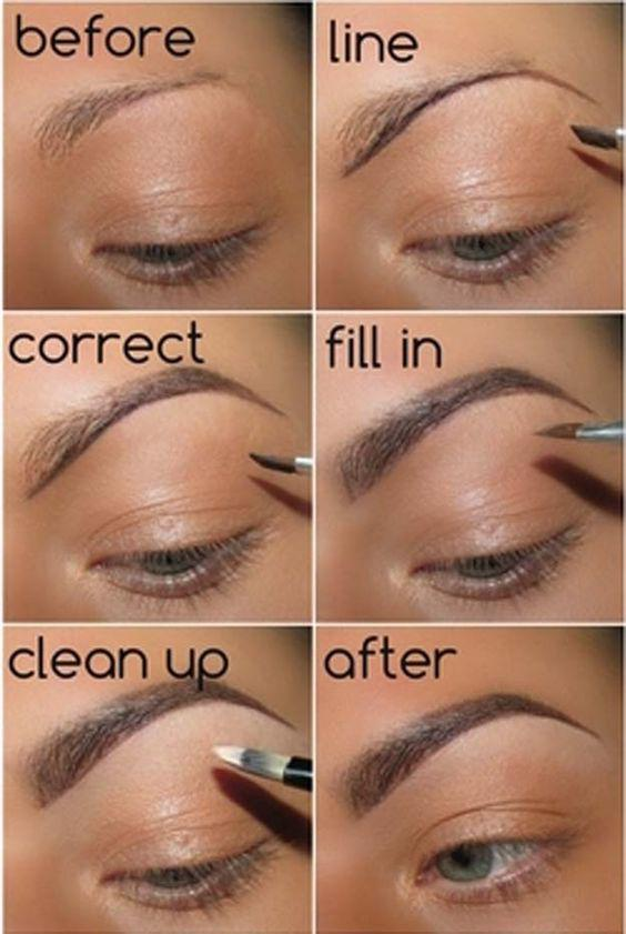 THE TECHNIQUE OF PAINTING EYEBROWS IS SOMETHING EVERY GIRL SHOULD KNOW - Page 36 of 40 - yeslip