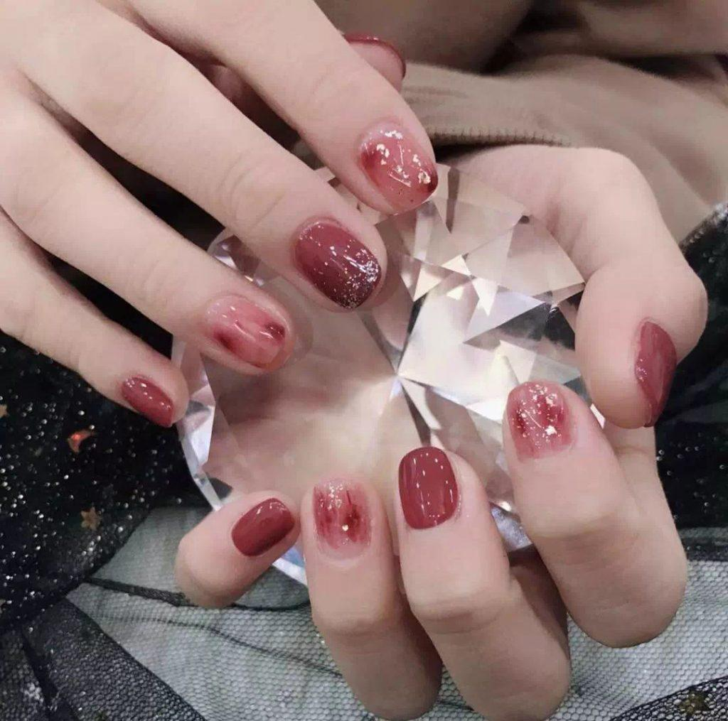 Beautiful red manicure, must not be missed! - Lilidiy