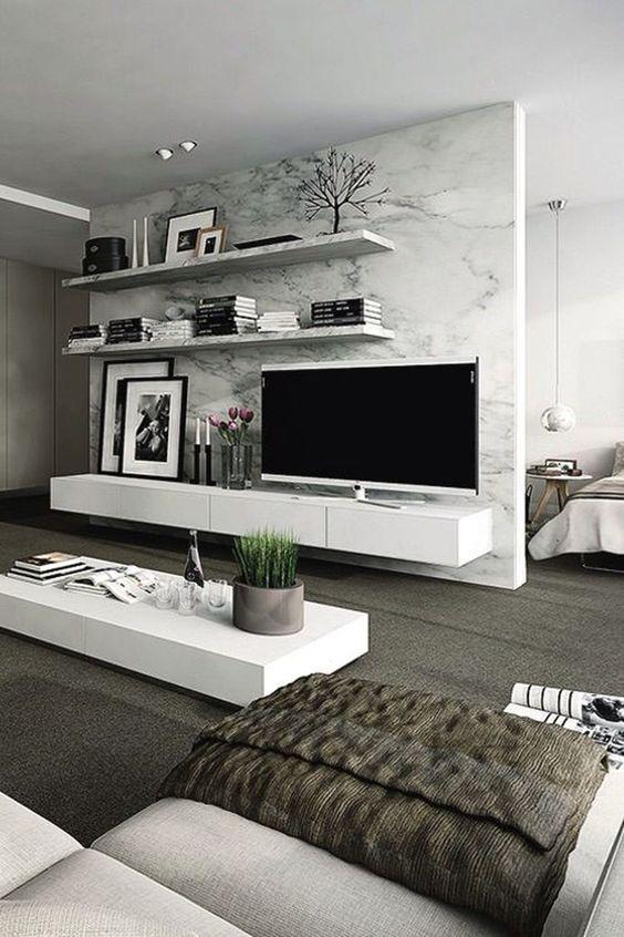 30 Inspiring Modern Living Room Design Ideas - Molitsy Blog