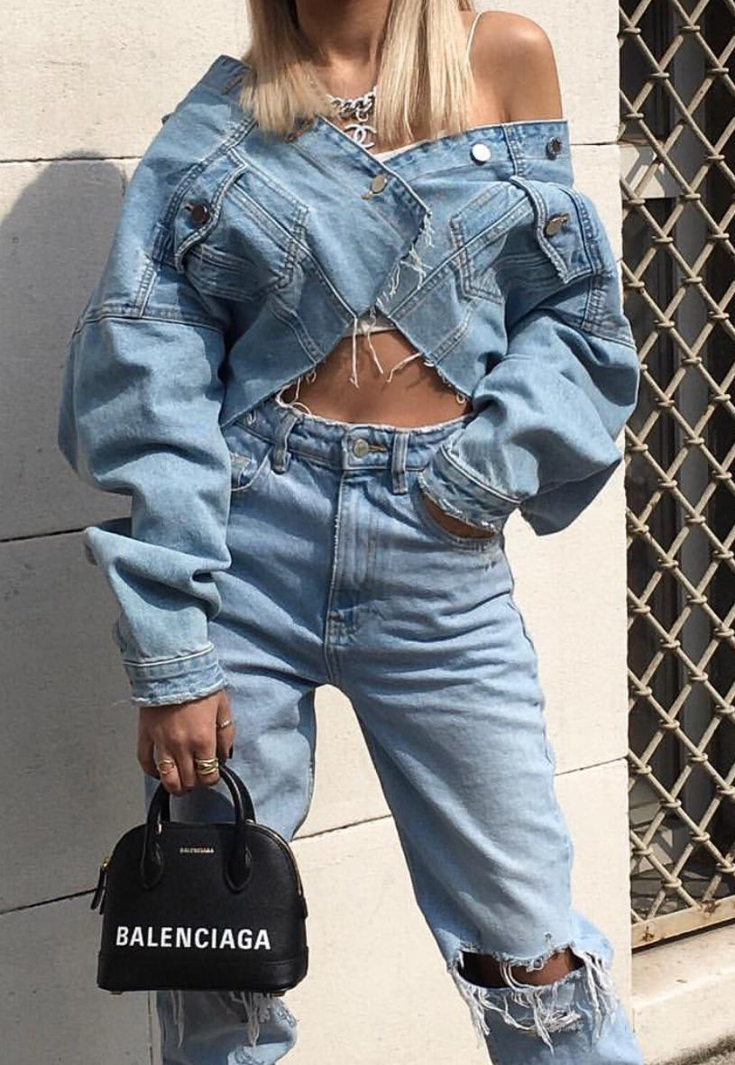 35 Simple and classic denim jacket 2020 - Page 3 of 12 - Girlrs
