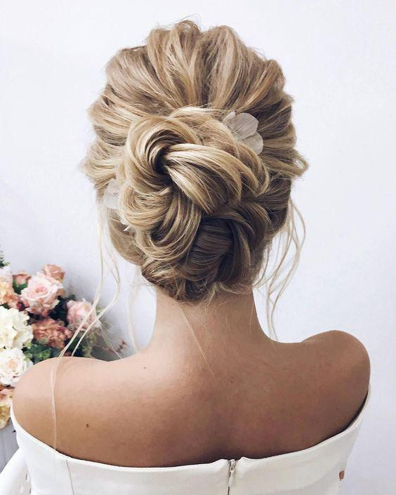 35+ Stylish Wedding Hairstyles for Short Hair in 2019 - Page 29 of 36 - VimTopic