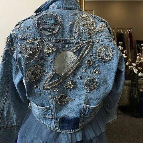 35 Simple and classic denim jacket 2020 - Page 4 of 12 - Girlrs
