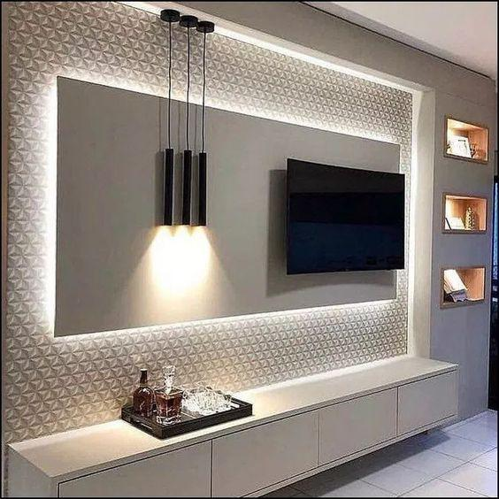 50+ STUNNING TV WALL CONTINUES TO BE POPULAR AT 2019 - Page 52 of 52 - maxpus