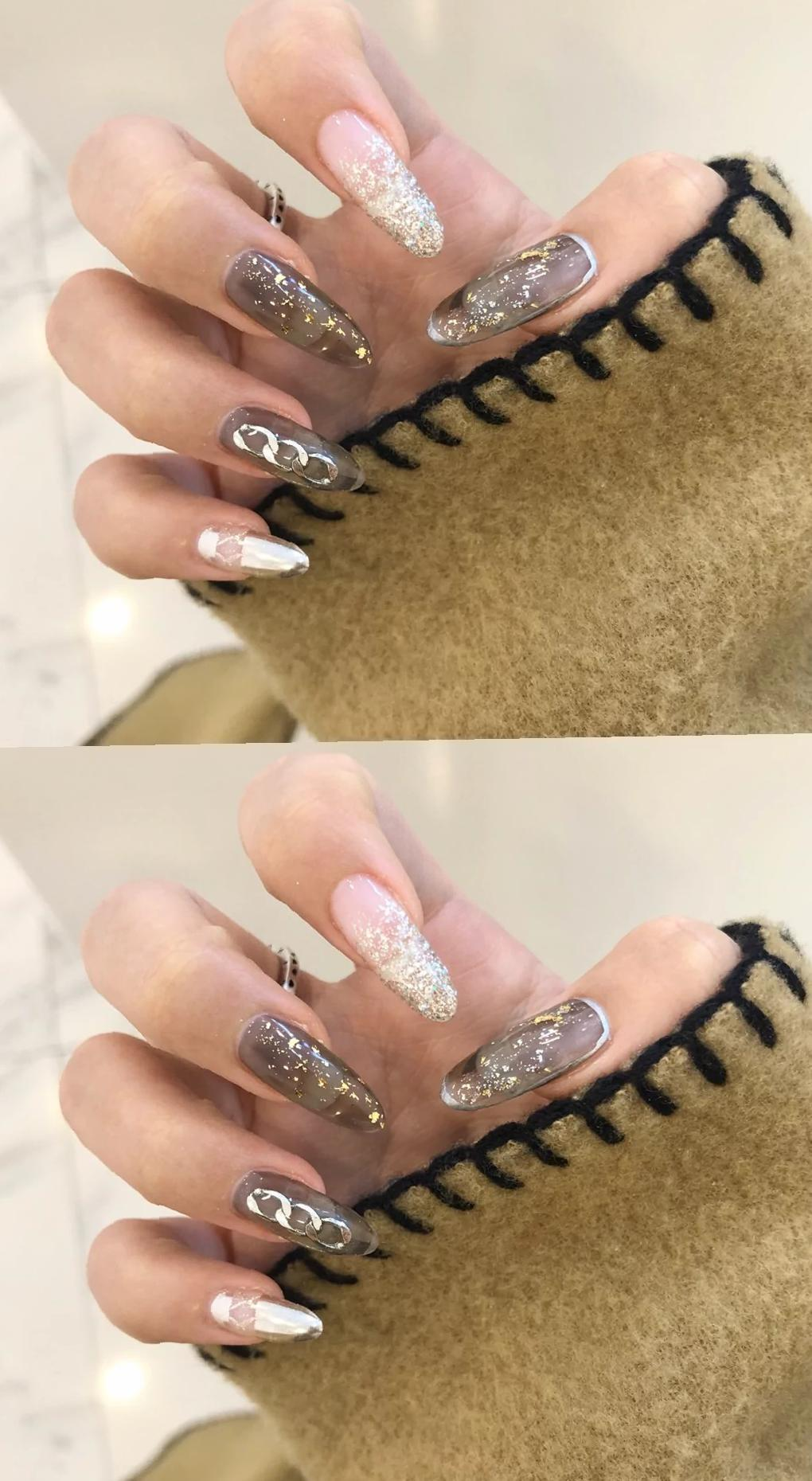 73 Awesome Long Acrylic Nail Design Trends 2020 - Naillty
