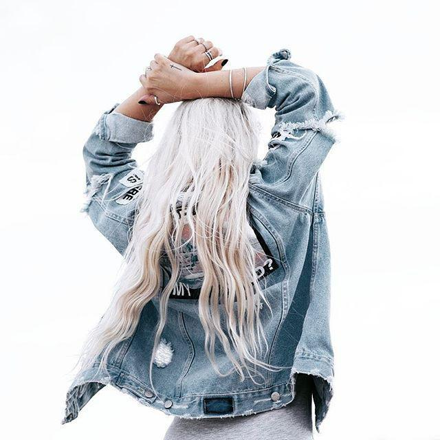 35 Simple and classic denim jacket 2020 - Page 8 of 12 - Girlrs