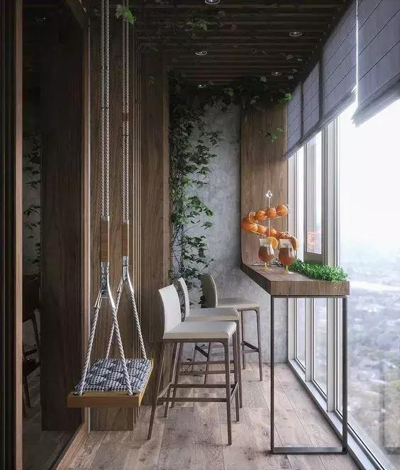 Creative Small Balcony Design - VimTopic