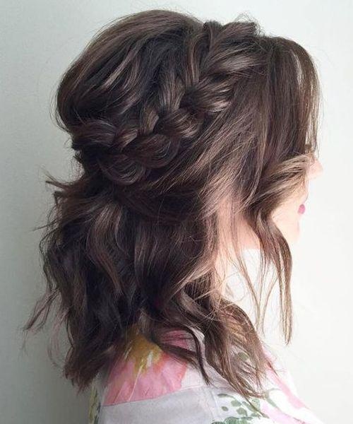 35+ Stylish Wedding Hairstyles for Short Hair in 2019 - Page 5 of 36 - VimTopic