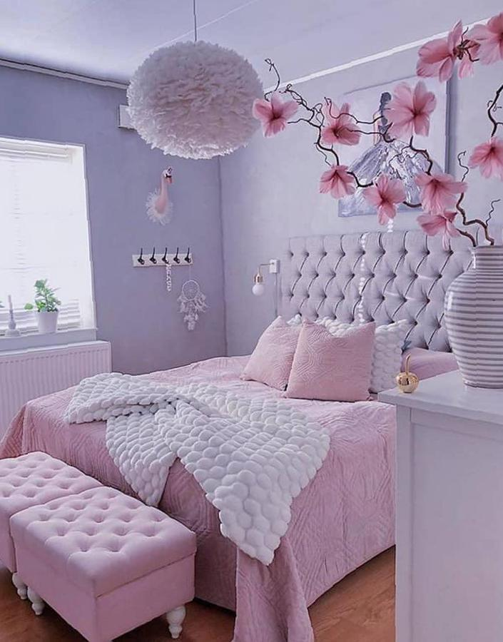 The gentle and romantic pink makes home life vibrant - Molitsy Blog