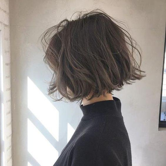 23 Fabulous Messy Bob Hairstyles For Girls - Molitsy Blog