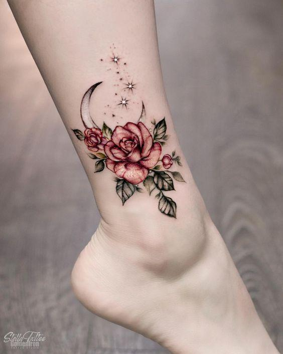 35 Charming And Irresistible flower Tattoos Designs - Page 5 of 35 - Liatsy Fashion