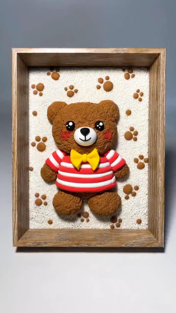 How to Make Cute Bear Toy Step by Step - Super Light Clay Tutorial - SoBlog