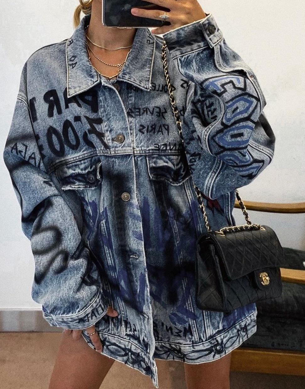 35 Simple and classic denim jacket 2020 - Girlrs