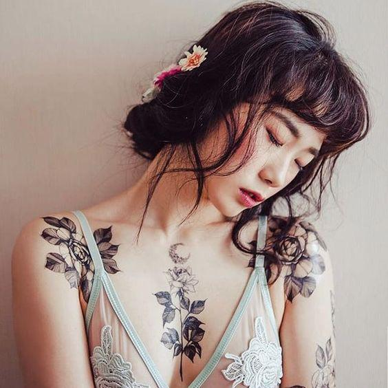 35 Charming And Irresistible flower Tattoos Designs - Page 8 of 35 - Liatsy Fashion