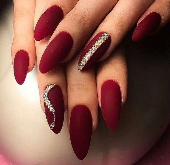 New Year Red Nail Styles To Inspire You 2020 - Page 9 of 11 - SoBlog