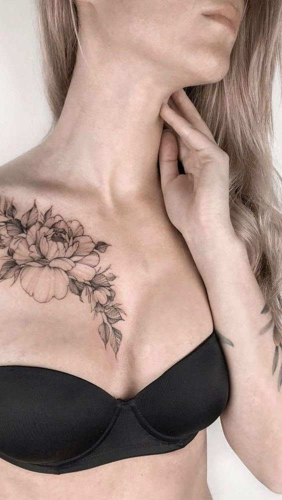 35 Charming And Irresistible flower Tattoos Designs - Page 4 of 35 - Liatsy Fashion