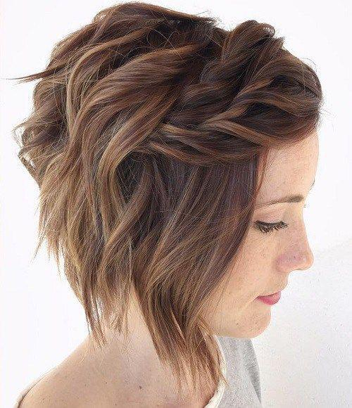 35+ Stylish Wedding Hairstyles for Short Hair in 2019 - Page 20 of 36 - VimTopic