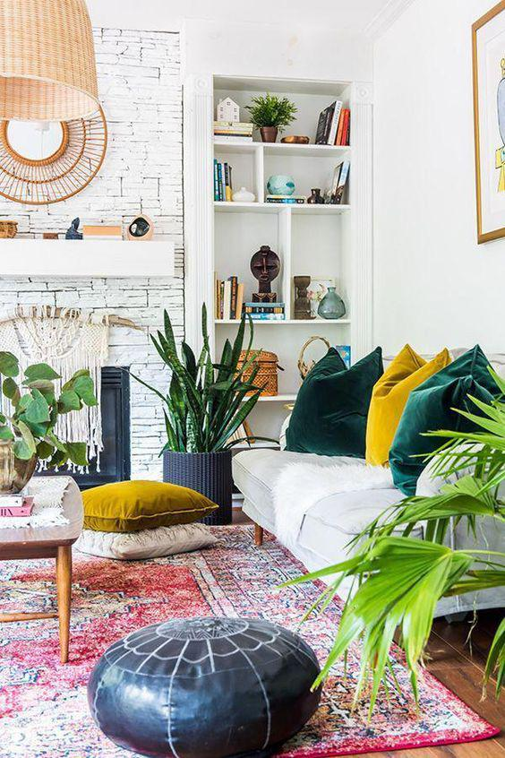 36 Colorful and Bright Home Decor Choice For Your Home - Molitsy Blog