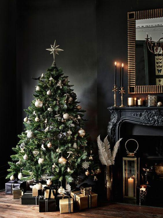 Traditional Christmas tree decorates your room 2020 - Molitsy Blog