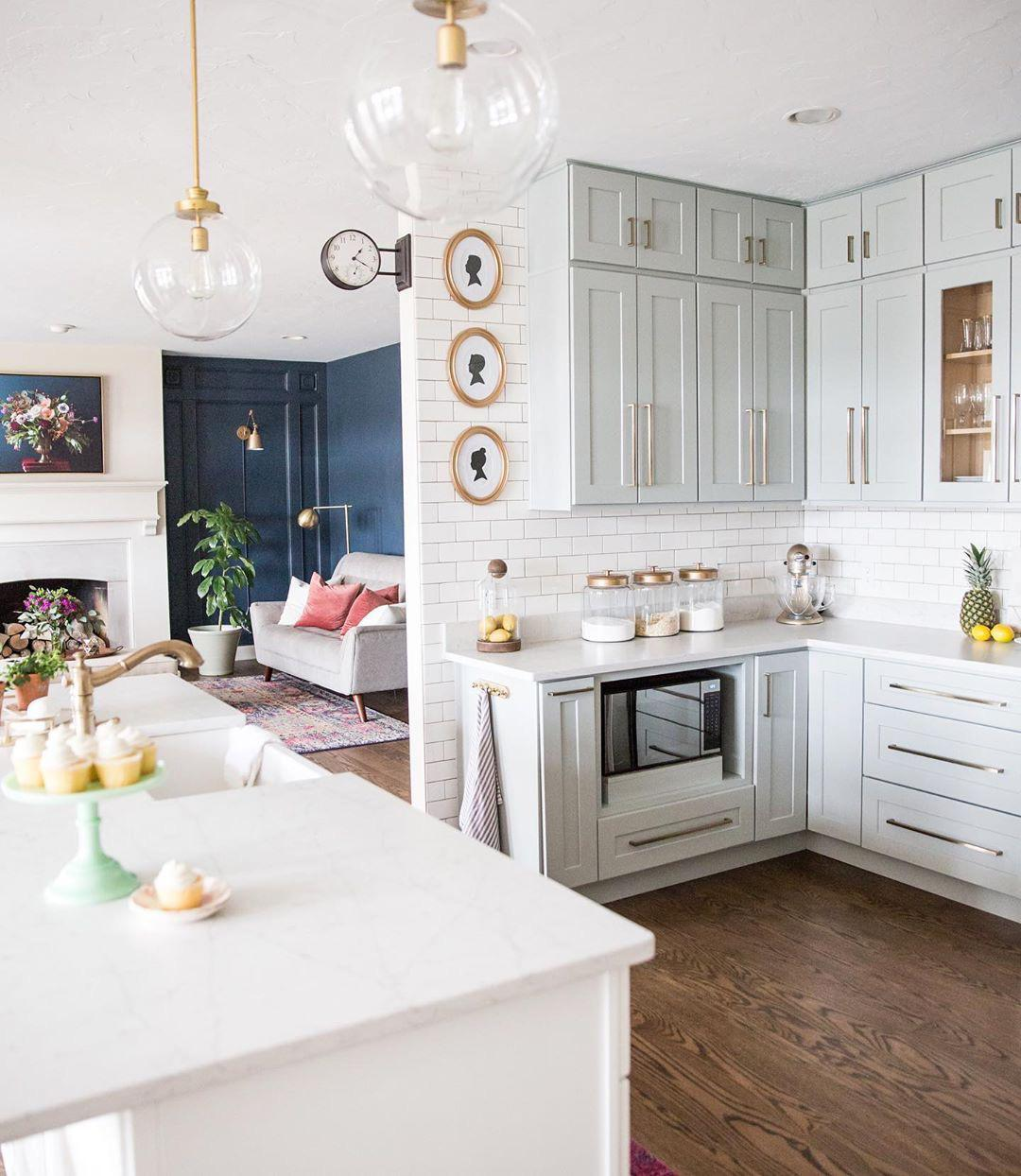 Inspiring Kitchen Design Ideas For Your Home - Page 33 of 35 - Liatsy Fashion