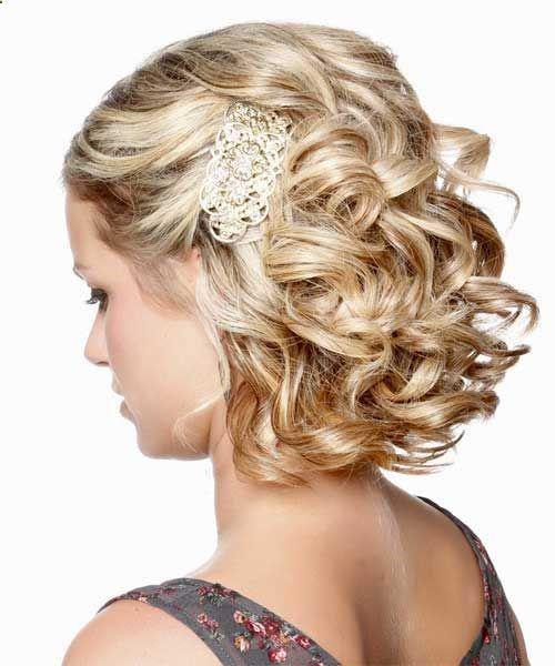 35+ Stylish Wedding Hairstyles for Short Hair in 2019 - Page 6 of 36 - VimTopic