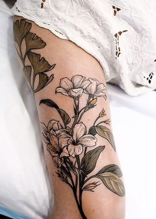 35 Charming And Irresistible flower Tattoos Designs - Page 7 of 35 - Liatsy Fashion